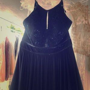 Dresses & Skirts - Navy blue dress new